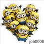 Adesivo De Parede Minions Meu Malvado Favorito Job0006
