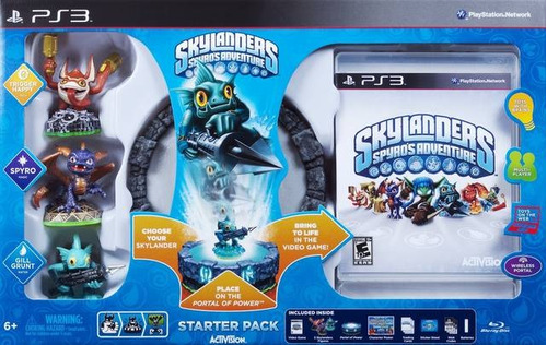 Skylanders Spyros Adventure Starter Pack - Pronta Entrega