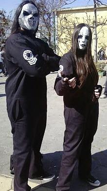 Slipknot Macacão Ou Farda Subliminal