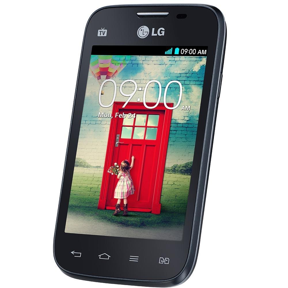Smartphone Lg L40 Desbloqueado Preto Dual Chip Tv