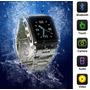 Super Relógio Celular-a Prova Dágua-fone Bluetooth E Sdcard