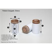 Ponta C/ Sola P/ Taco De Bilhar Kit Com 10 Peças