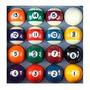 Bolas De Bilhar C/listra/ Snooker/ Sinuca/ Pebolim 38mm Nova