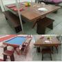 Mesa Jantar E Snooker /sinuca- Personalizada- Direto Fabrica