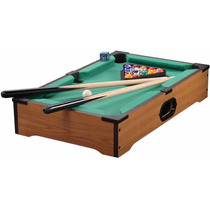 Mini Mesa De Bilhar Sinuca Snooker 52x32x10cm