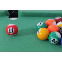 Mini Mesa Jogo Bilhar Sinuca Snooker Completa Frete Gratis