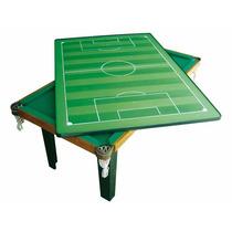 Mesa De Sinuca 4 Em 1 Ping Pong,botão Jantar Klopf Completa