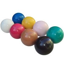 Bola De Sinuca Bilhar Snooker 50mm 8 Peças Coloridas (11208)