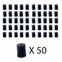 50 Unidades Virola/ Ponteira P/ Tacos Bilhar/ Sinuca/snooker