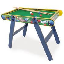 Mesa De Sinuca Tacada Certeira Infantil - Xalingo