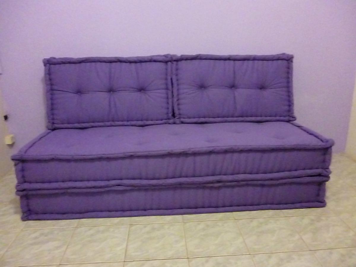 Sofa cama em futon turco r no mercadolivre for Sofa cama tipo futon
