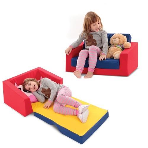 Sofu00e1 Cama Infantil Colorido 8014-1 Cortex - R$ 158,90 no MercadoLivre