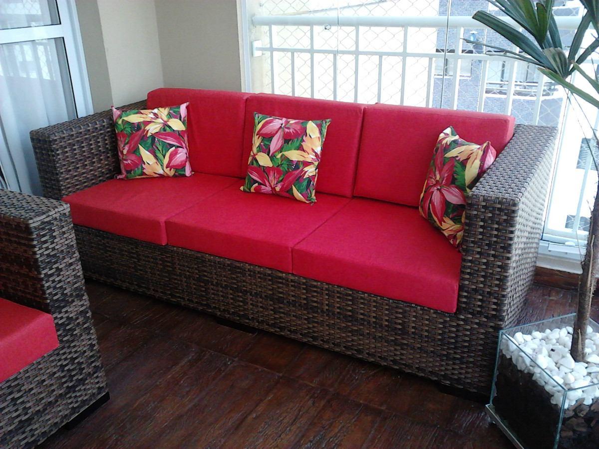 Sofá De 3 Lugares Atlanta Em Fibra Sintetica R$ 1.800 00 no  #911629 1200x900