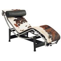 La Chaise Le Corbusier Em Pelo Vaquejado