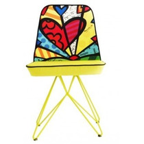 Cadeira Jantar Butterfly New Day Romero Britto. Oficial.