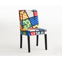 Cadeira Juli, Landscape Romero Britto. Produto Oficial.