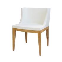 Cadeira Mademoselli Courino Branco Ou Preto