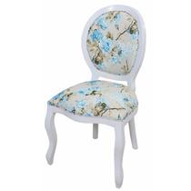 Cadeira Medalhão Lisa / Cadeira Decorativa / Poltrona