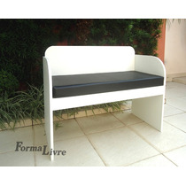 Sofá Banco Poltrona Namoradeira Decorativa - Design Moderno