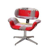 Cadeira Poltrona Tulipa Decorativa Pés Palito Ou Giratória