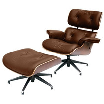 Poltrona Charles Eames. Marrom