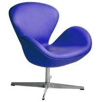 Poltrona Cadeira Sala Sofá Decoração Swan Design