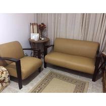Sofá E Poltrona Linha Art Deco Tok Stok