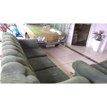 Sofa De Dois E Tres Lugares Verde Semi Novo