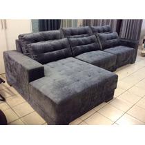 Sofa Retratil P/ 6 Pessoas Novo Aruba