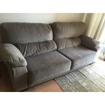 Sofá Com Chaise - Semi Novo