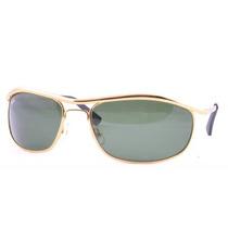Óculos De Sol Rayban Rb8012 Demolidor Olimpian. Dourado.