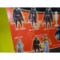 07 Bonecos Zorro Gulliver Don Diego Com Acessorios
