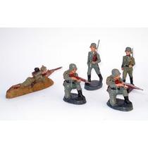 Soldados De Massa Antigos - Lineol Etc - Segunda Guerra Iiww