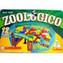 Zoológico Gulliver Com 12 Bichos + Jaulas E Cenários