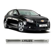 Jogo Soleira Resinada Larga Chevrolet Cruze 2012/ 4 Portas