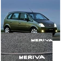 Jogo De Tapetes Meriva 02 Á 12... Chevrolet Grafite 5 Peças
