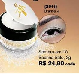 Sombra Em Pó Sabrina Sato Yes Cosmetics