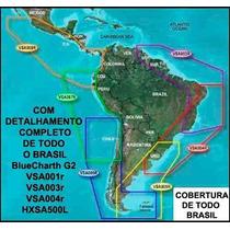 Carta Naut. Mapa Bluechart-g2 Pgarmin Todo Brasil+ Am. Latin