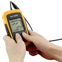 Sonar Portátil Localizador De Peixes Sensor 9m Frete Grátis