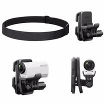 Sony Action Cam Acessório Kit Montagem Cabeça Clip Blt-chm1
