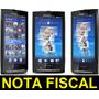 Sony Ericsson Xperia X10 Android 1.6 Wifi 8.1mp - De Vitrine