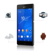 Celular Sony Xperia Z3 Preto Webfones