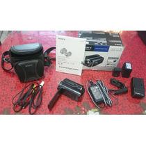 Filmadora Sony Hdr-xr150 Hd Interno 120gb + Itens Extra