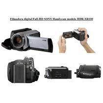 Filmadora Sony Full-hd Model - Hdr-xr100