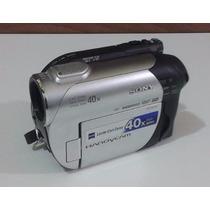 Filmadora Sony Dcr-dvd108 Mini Dvd + Cabos + Bolsa Semi Nova