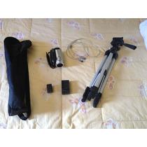 Filmadora Sony Hcr Hc5 Usb 1080 Hd Memory + 5 Minidv + Tripe
