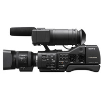 Filmadora Profissional Sony Nex Ea50 Nova - Cartão 16gb