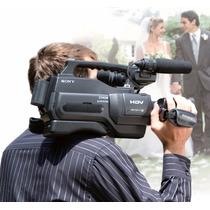 Filmadora Sony Hvr Hd1000 - Grava Dv E Hdv Em Alta Definição