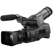 Sony Nex Ea50h Filmadora Com Lente Servo 18-200mm Nxcam