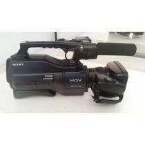 Filmadora Sony Hvr-hd1000 E Acessórios, A Vista Tem Desconto